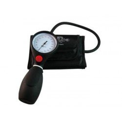 Tensiomètre noir manopoire ambidextre adulte