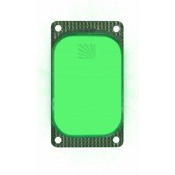Marqueur lumineux rectangulaire vert VisiPad - 10 heures
