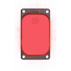 Marqueur lumineux rectangulaire rouge VisiPad - 10 heures