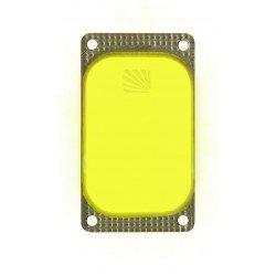 Marqueur lumineux rectangulaire jaune VisiPad - 10 heures