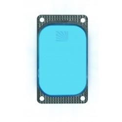 Marqueur lumineux rectangulaire bleu VisiPad - 10 heures