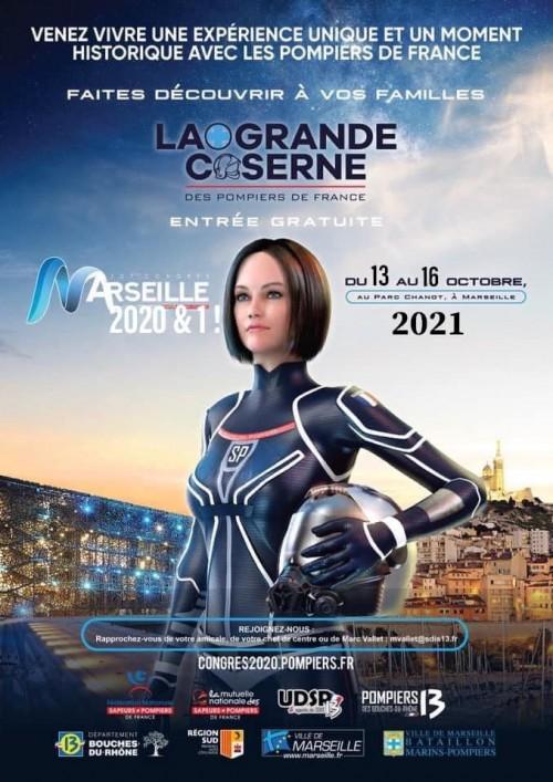 Corben | Congrès National des Sapeurs-Pompiers de France 2021